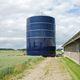 grain silo / galvanized steel / steel / round