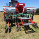pneumatic seed drill / with fertilizer applicator