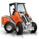 rubber-tired loader / telescopic