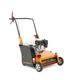 walk-behind scarifier / ride-on / gasoline engine