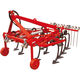 mounted field cultivator / with hydraulic adjustment / with harrow / with gauge wheels
