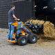 rubber-tired skid-steer loader / compact / mini