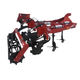 mounted stubble cultivator / with roller / 3-point hitch / chisel