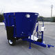 vertical mixing wagon / trailed / front discharge / single-auger