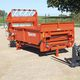 telescopic arm straw spreader / for square bales
