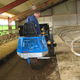 cattle automatic feeding system / self-propelled / bucket