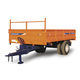 dump trailer / single-axle / agricultural / tipping