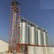 grain silo / for animal feed / steel / round