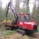 tracked forestry forwarder