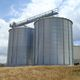 grain silo / metal / round / flat-bottom