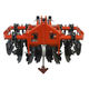 mounted disc harrow / 2-section / with hydraulic adjustment / 3-point hitch