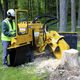 walk-behind stump grinder