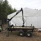 2-axle trailer / forestry / 0 t...10 t / self-loading