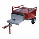 single-axle trailer / agricultural