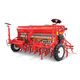 hopper seed drill / tine / tractor-mounted / depth control