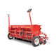 hopper precision seed drill / double-disc / with harrow / onion