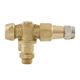 brass nozzle / atomization