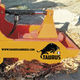 tractor-mounted stump grinder / hydraulic drive / PTO-driven / 3-point hitch