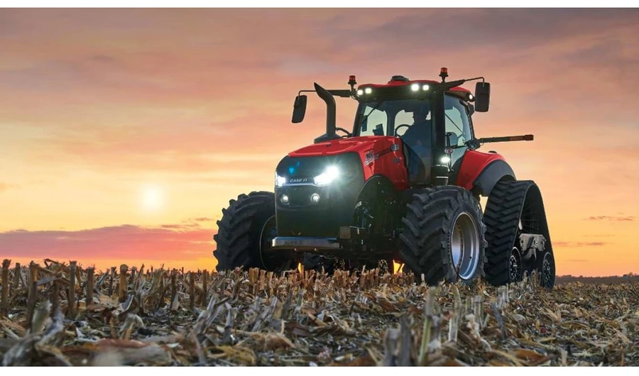 Farm Machinery Show 2020.Case Ih Rolls Out New Connected Magnum Louisville Ky Usa