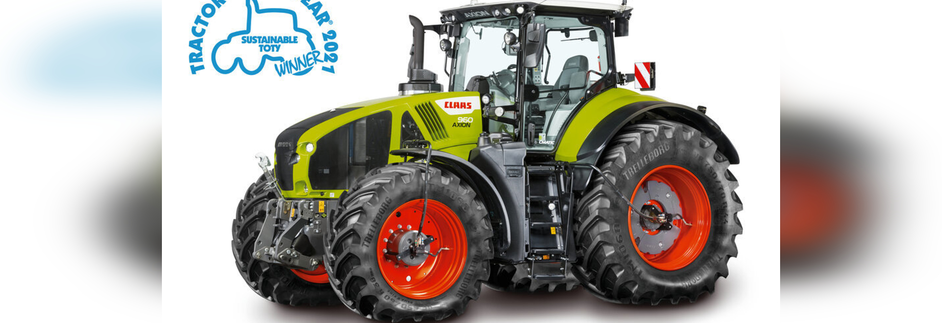 Different 'Claas': Axion 960 CEMOS wins 'Sustainable Tractor of the Year'