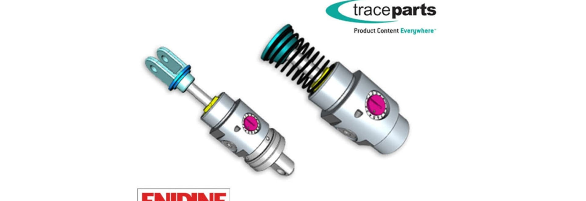 Enidine Product Catalog Available on TraceParts CAD Content Platform