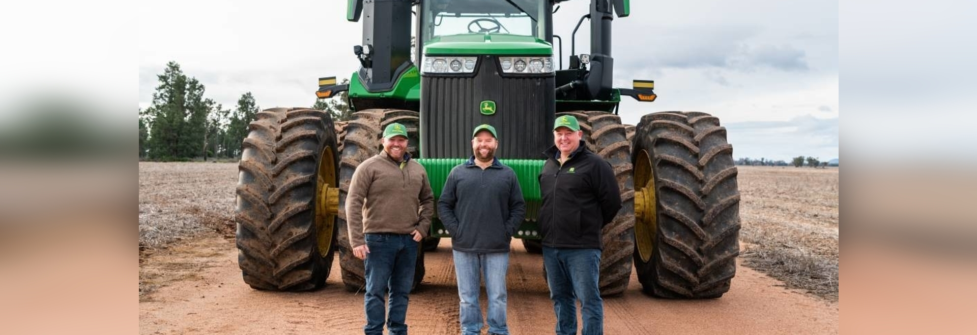 First MY22 John Deere 9 series tractors headed to wyalong