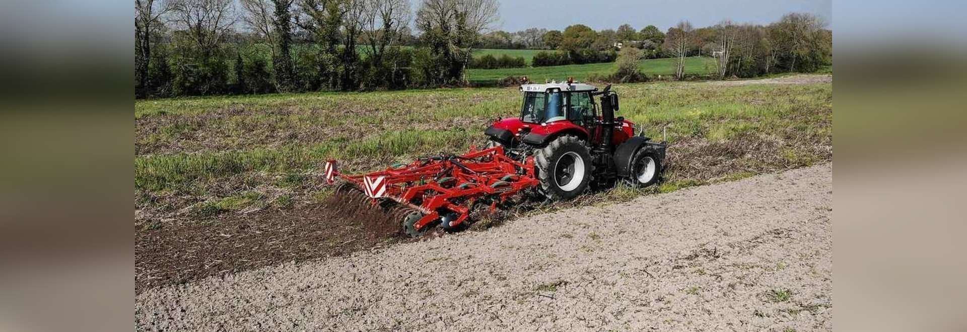 Hydraulic folding extends Enduro cultivator range