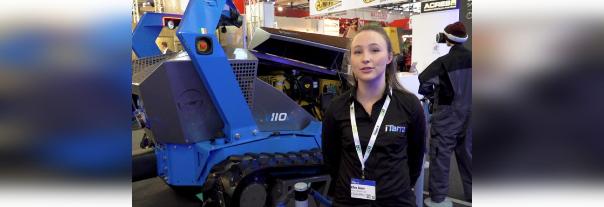 The inside track on this Roscommon-designed driverless 'tractor'