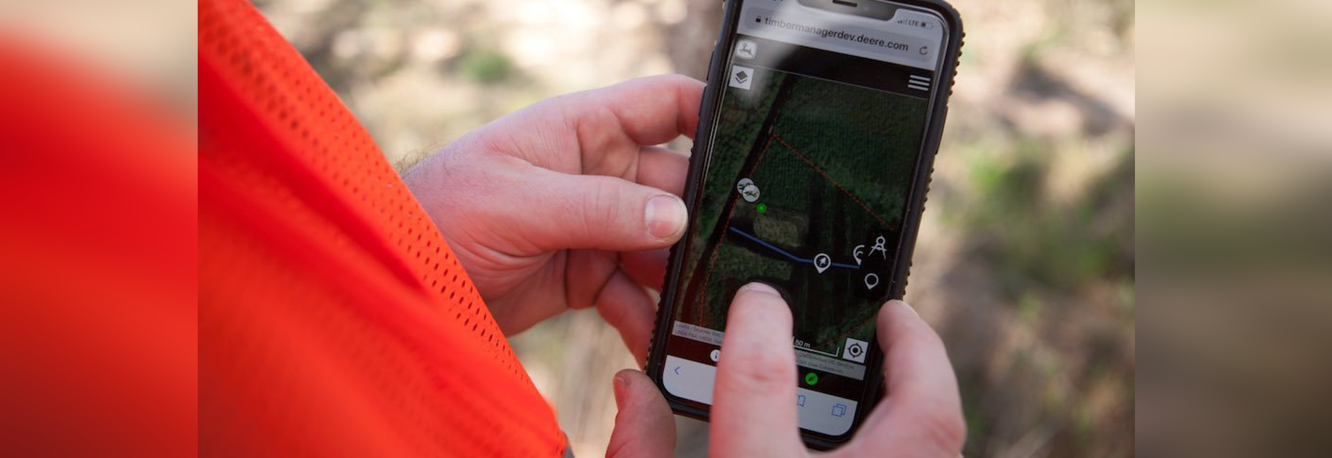 John Deere expands TimberMatic Maps, TimberManager to full-tree equipment
