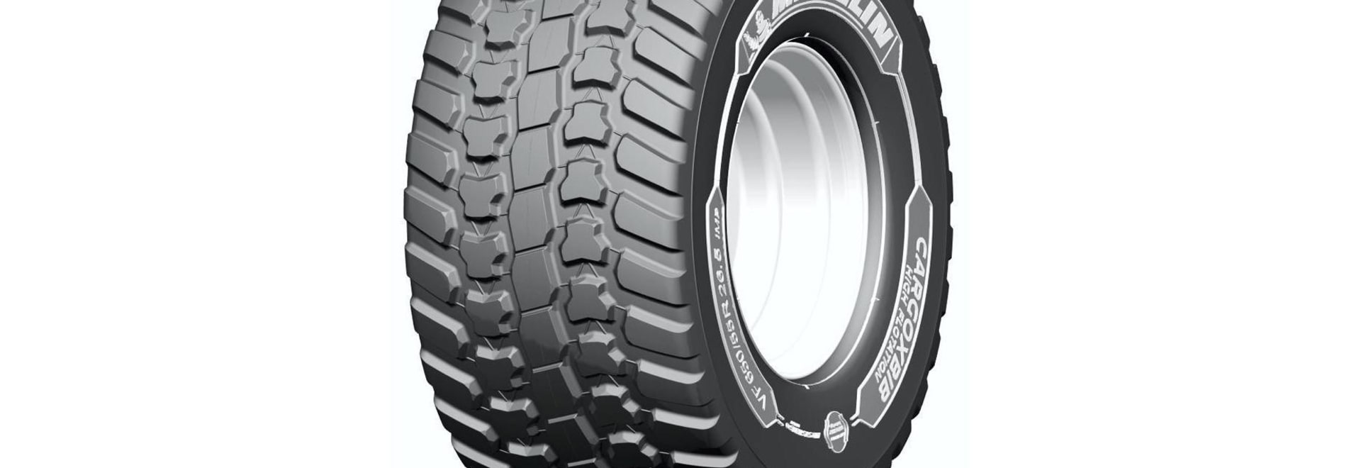 Michelin to introduce new high flotation tyre for trailers, spreaders and slurry tankers