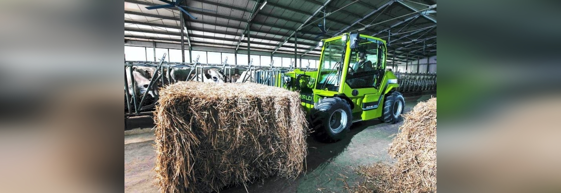 New year arrival for all-electric Merlo E-worker telehandler