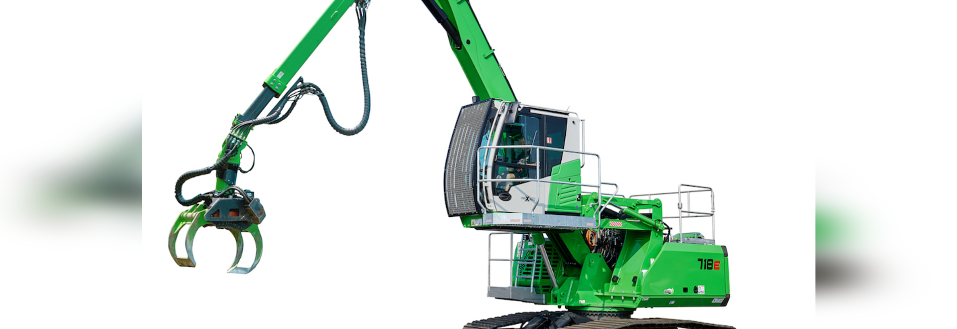 Sennebogen introduces off-road tree care machine