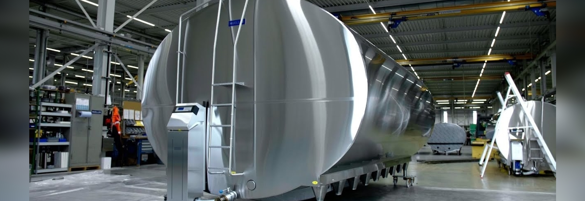 Video: How a milk tank is made