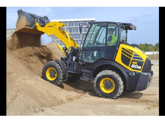Komatsu launches new compact wheel loader aimed at farm, waste and mid size commercial users