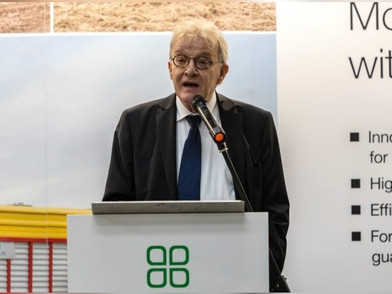 The Austrian ambassador to Ireland – Dr. Helmut Freudenschuss