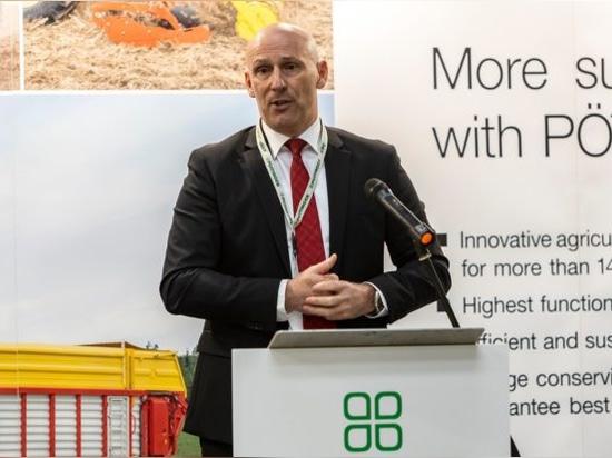 Main speaker for the executive board of Pottinger – Gregor Dietachmayr