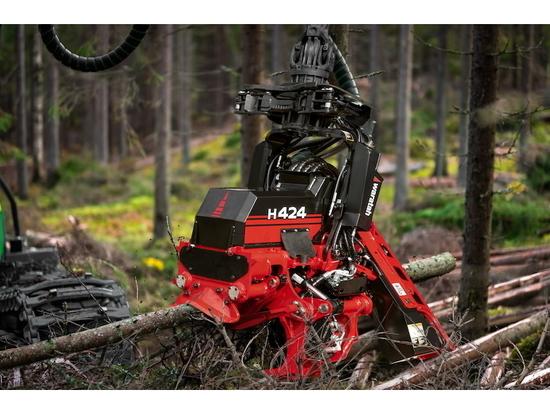 Waratah debuts H424 harvester head