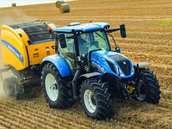 Pics: New Holland unveils fresh addition to T6 range