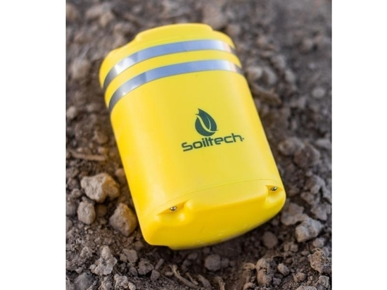 SOILTECH SENSORS GIVE FARMERS ACTIONABLE DATA ON CROP PERFORMANCE
