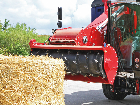 SILOKING SelfLine Feed mixers – Straw chopper saves time and feed costs