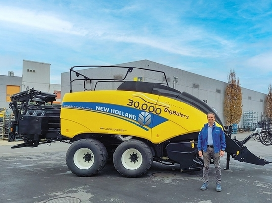 New Holland Agriculture reaches milestone of 30,000 large square balers produced