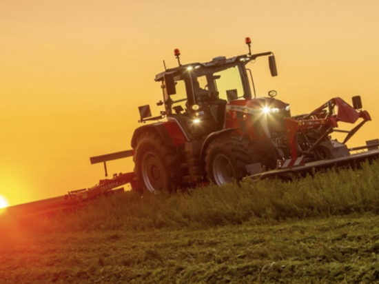 TYRI delivers custom made lighting in collaboration with Massey Ferguson