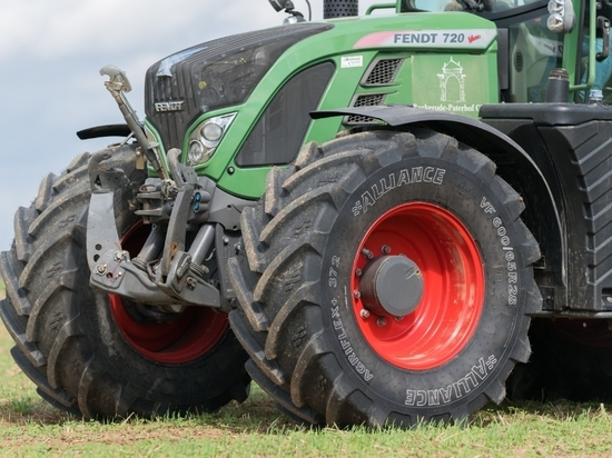 New Alliance 372VF tyre performs well under independent test