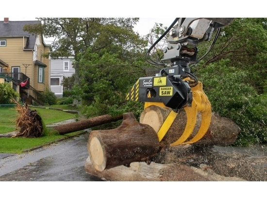 Hultdins unveils new MG grapple saws for excavators