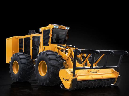Tigercat introduces 760B mulcher 4061-30 mulching head
