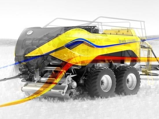 New Holland Agriculture wins 2020 Good Design Award for the BigBaler 1290 High Density