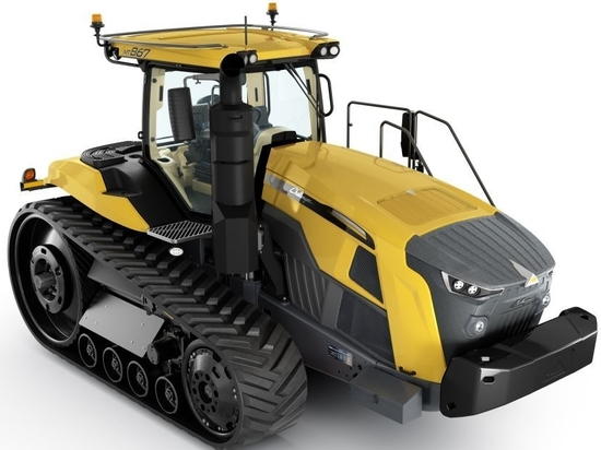 AGCO Introduces All-New Challenger MT800 Series Track Tractors