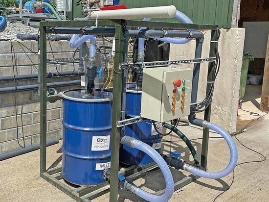 Activated carbon filters remove nasties such as hydrogen sulphide