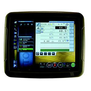 controllore di fattore di produzione agricola / GPS / con display / di bordo
