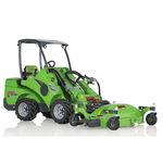 trinciatrice rotante per spazi verdi / montaggio anteriore